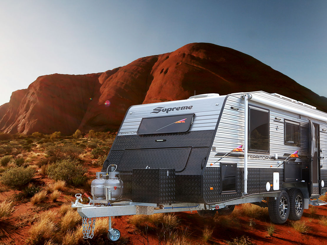 Caravan 5-star accommodation