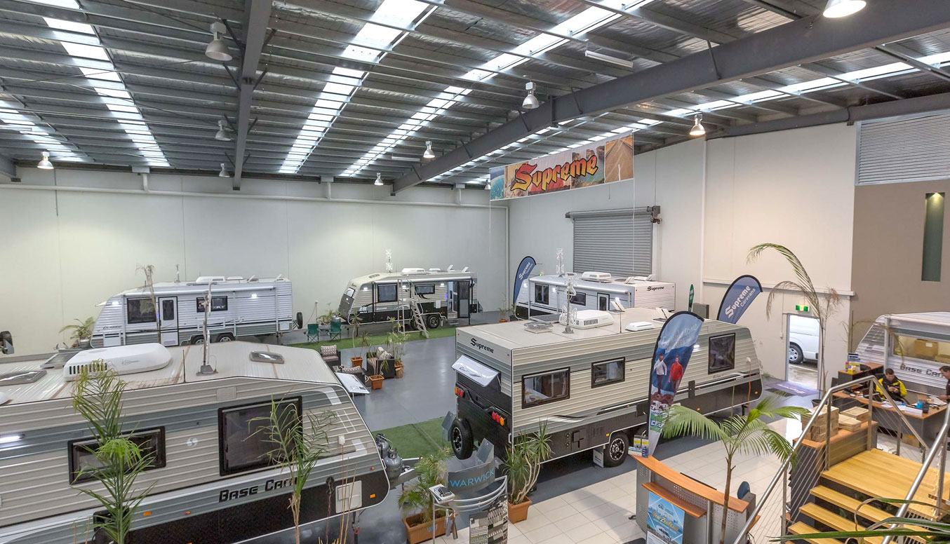 Supreme Caravan Dealership in QLD